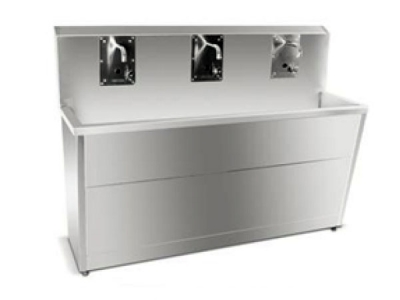 Operating Room Triple Hand Washing Sink